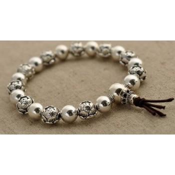 Guru armbånd - 3 huls perler
