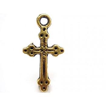 Guld kors 21 mm