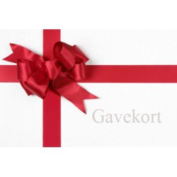 GAVEKORT - BESTEM SELV BELØB