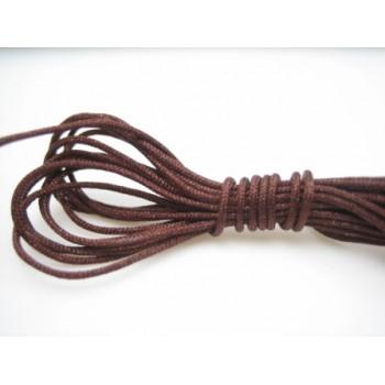 Brun knyttesnor 0.8 mm - 10 m