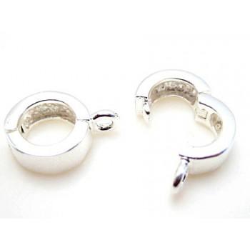 Vedhæng led / lås  i sterling sølv S925