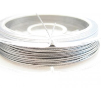 smykke wire sølv 0,45 mm - 10 m