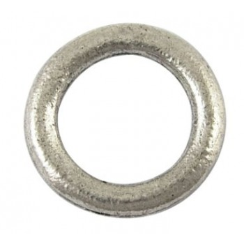 Glat ring 15 mm - 4 stk