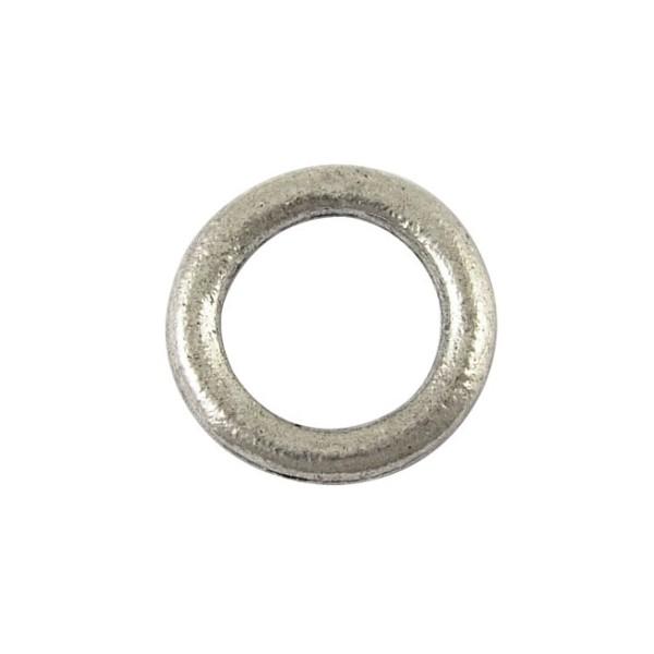 Glat ring 15 mm - 4 stk