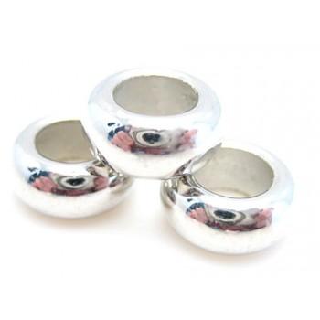 Ring perle 10 / 5 mm - 5 stk