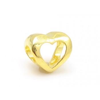Hjerte i guld belagt -