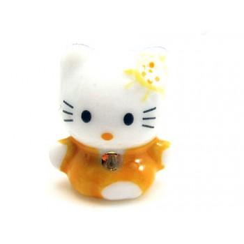 Porcelæns Hello Kitty 18mm Gul