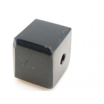 Firkantet sort sten 10 mm