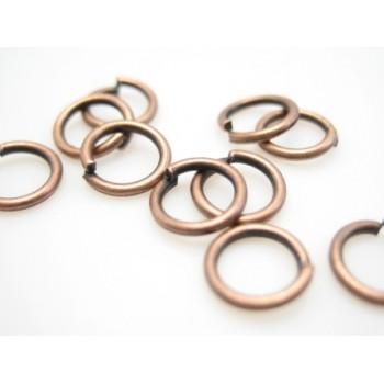 O-ring kobber 4,2 mm indvendig - 10 stk