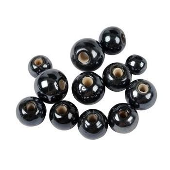 Keramik perler  6 - 10 mm - ca 60 stk