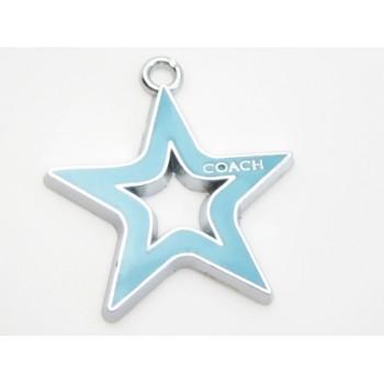 Stjerne med turkis emalje 29 mm