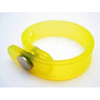 Silikone ring gul - regulerbar