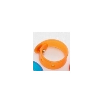 Silikone ring orange - regulerbar