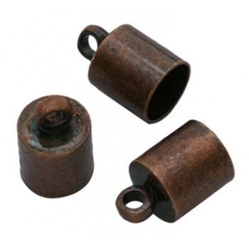 Kobber enderør 5,2 mm hul - 2 stk