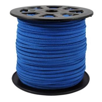 Ruskind im. 3 x 1,5 mm blå - 1 m