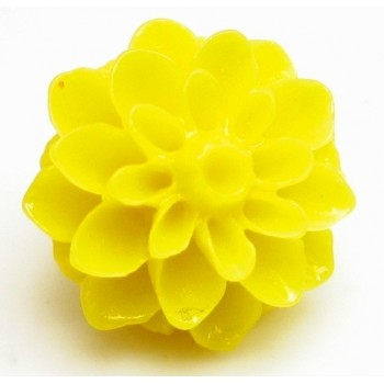 Resin blomster 15 mm - 2 stk