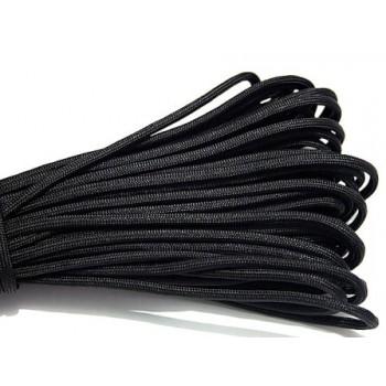 Faldskærmsline sort 1 m