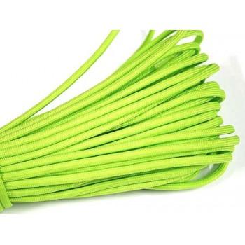 Faldskærmsline neon grøn 1 m