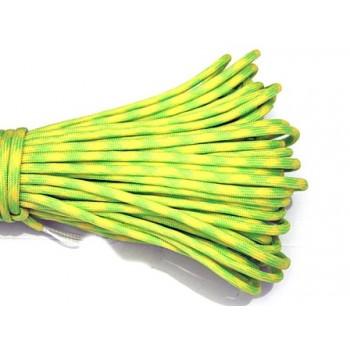 Faldskærmsline grøn / gul 1 m