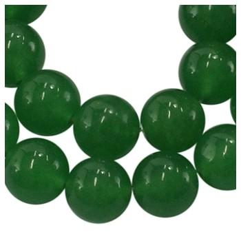Jade grøn 10 mm - 8 stk