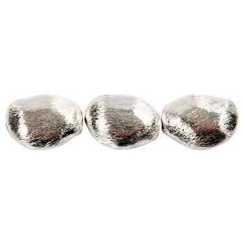 Børstet perle 19 / 2 mm
