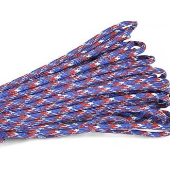 Faldskærmsline Blå / Rød 1 m