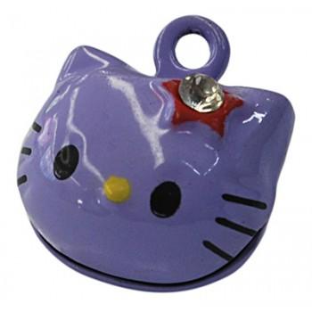 Hello Kitty klokke lilla 18 mm