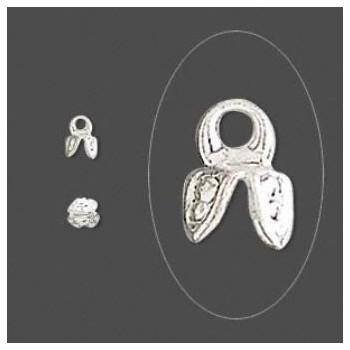 Perleskål med vedhæng - 2 stk