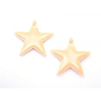 Emalje stjerne 12 mm - HUD - 2 stk
