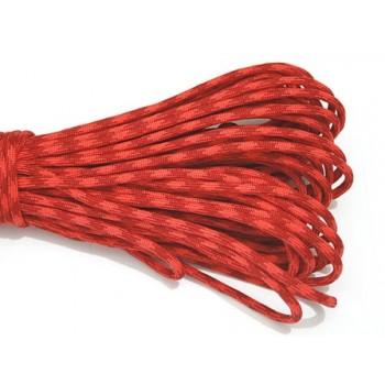 Faldskærmsline Rød / Orange 1 m