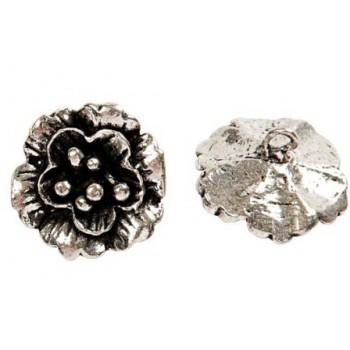 Blomster knap 15 mm