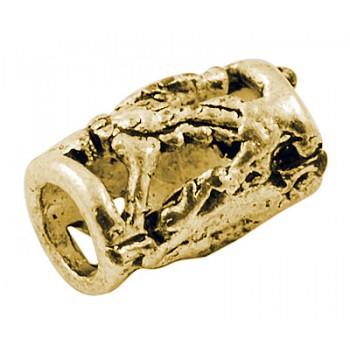 Smukke guld perler 14 / 4,5 mm - 2 stk