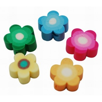 Fimo Blomster mix 10 / 1 mm - 20 stk