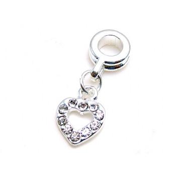Hjerte med stene 28 mm