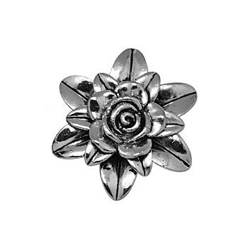 kæmpe blomst vedhæng 65 mm