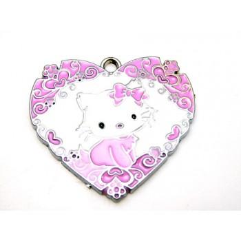 Hello Kitty hjerte 32 mm
