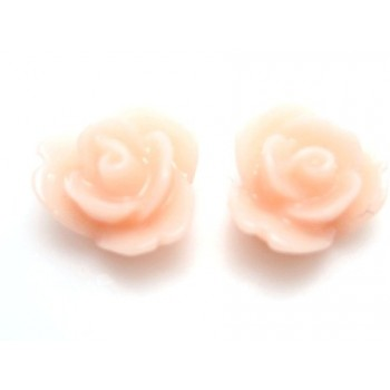 Resin rose mini laks 9 mm - 2 stk