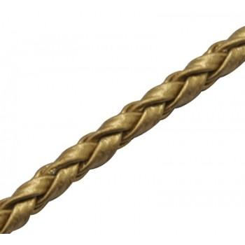 Bola imiteret guld lækker 3 mm tyk pr. m SUPER BILLIGT