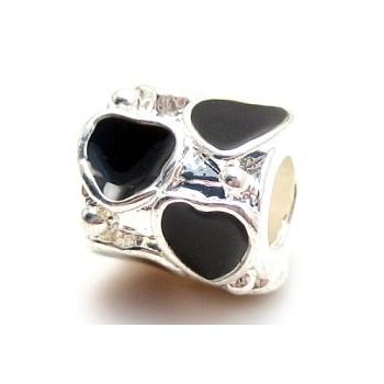 Sølv og sorte hjerter