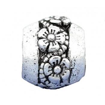 Tibet sølv med blomster led