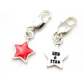 Stjerne sølv belagt
