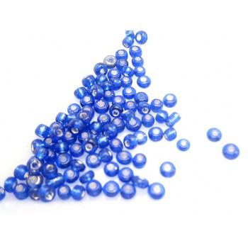 Seed bead blå 3 / 0,5 - 25 G