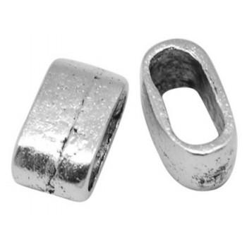 Båndring i tibet sølv  13 x 7 mm