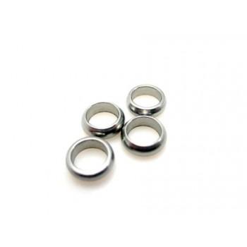 Mellem rondel stål ringe 6,5 / 4 mm - 4 stk