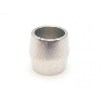 Stål led perle 8 / 6 mm