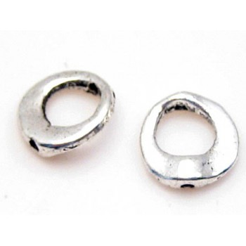 Rå flot ring perle 10,5 mm 2 stk