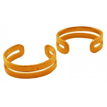 Ear cuff guld - 2 stk
