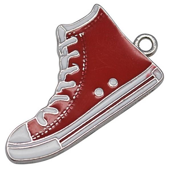 Converse sko 30 mm rød