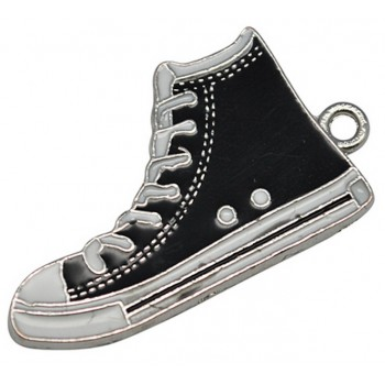 Converse sko 30 mm sort