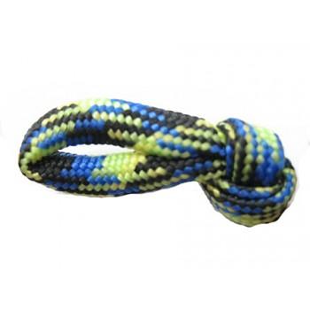 Faldskærmsline Lime/blå/sort 1 m